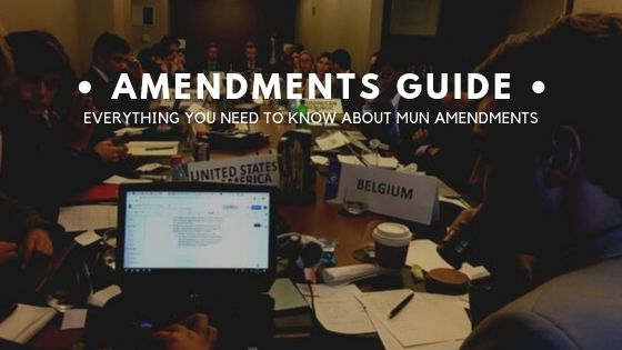 MUN Amendments Guide